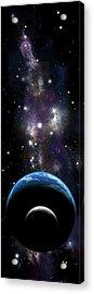 Sister Moon Nebula Acrylic Print