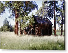 Sisters Homestead Acrylic Print by Ray Finch