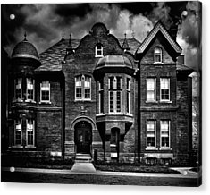 Sisters Of St. Joseph Heritage Building Toronto Canada Acrylic Print by Brian Carson