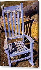 Sit A Spell Acrylic Print by David Rizzo