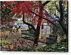 Sit Down And Relax Acrylic Print by Robert Culver