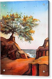 Sit Quietly And Listen Acrylic Print