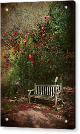 Sit With Me Here Acrylic Print