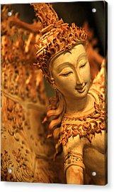 Sita Acrylic Print by Suradej Chuephanich