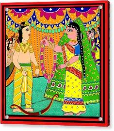 Sita's Wedding Acrylic Print
