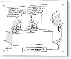 Sitcom News 'hey Acrylic Print