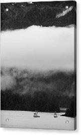 Sitka Fishing Boats Acrylic Print by Carol Leigh