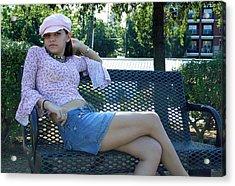 Sitting Pretty Acrylic Print by Joseph C Hinson Photography