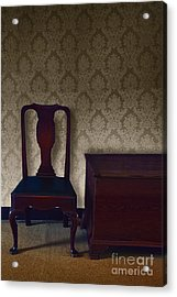 Sitting Room At Dusk Acrylic Print by Margie Hurwich