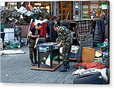 Situation In Ukraine Acrylic Print by Andriy Onufriyenko