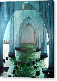 Siuslaw River Bridge Acrylic Print