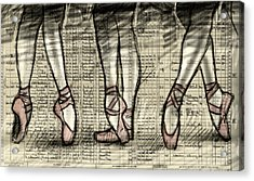 Six Feet Acrylic Print by H James Hoff