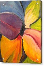 Six Petals Acrylic Print