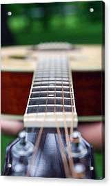 Six String Music Acrylic Print