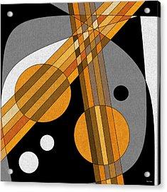 Six Strings Acrylic Print