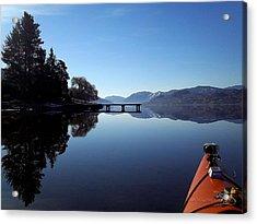 Skaha Lake Calm 2 Acrylic Print
