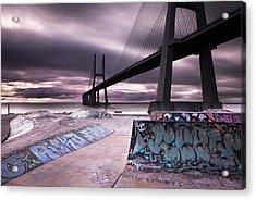 Skate Park Acrylic Print