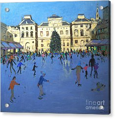 Skaters  Somerset House Acrylic Print
