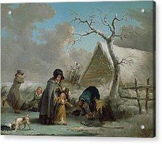 Skating, 1792 Acrylic Print