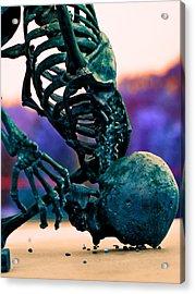 Skelton  Acrylic Print