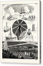Sketches At The Royal Naval Exhibition 1. H.m.s Acrylic Print
