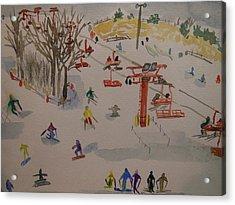Ski Area Acrylic Print