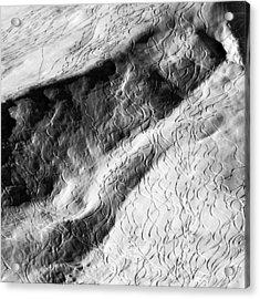 Ski Traces Acrylic Print by Frank Tschakert
