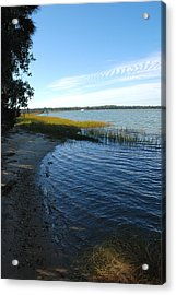 Skidaway River Acrylic Print by Kathy Gibbons
