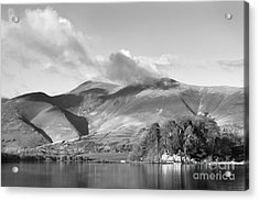 Skiddaw And Friars Crag Mountainscape Acrylic Print