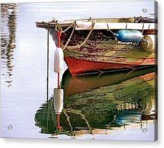 Skiff Reflections Acrylic Print