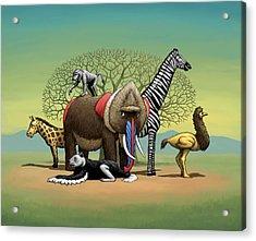Strange Safari Acrylic Print