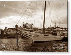 Skipjack In Port Acrylic Print