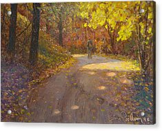 Skippers Autumn Acrylic Print by Terry Perham