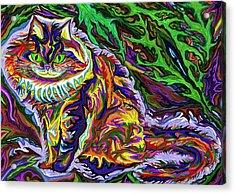 Skogkatt 1999 Acrylic Print by Robert SORENSEN