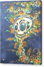 Skull Candy Acrylic Print
