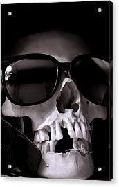 Skully Acrylic Print