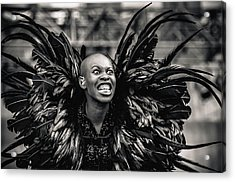 Skunk Anansie Acrylic Print by