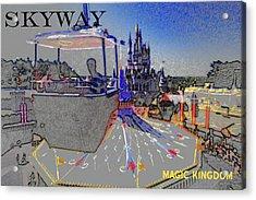 Skway Magic Kingdom Acrylic Print by David Lee Thompson