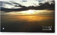Sky Above Acrylic Print by Raymond Earley