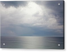 Sky And Cloudscape, Rhodes, Greece Acrylic Print
