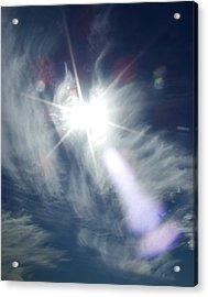 Sky Angel Acrylic Print