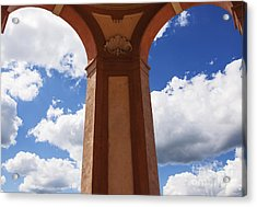Sky Archs Acrylic Print by Rostislav Bychkov