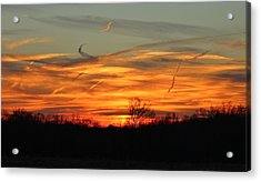 Sky At Sunset Acrylic Print