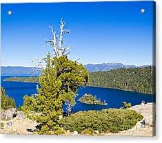Sky Blue Water - Emerald Bay - Lake Tahoe Acrylic Print
