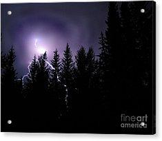 Sky Bolt Acrylic Print