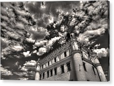 Sky Breaker In Black And White Acrylic Print