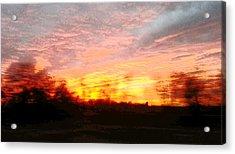 sky Acrylic Print by David Alvarez