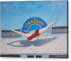 Sky Dive Acrylic Print by Robert Rohrich