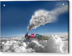 Sky Express Acrylic Print by Igor Zenin