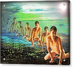 Sky Fall Acrylic Print